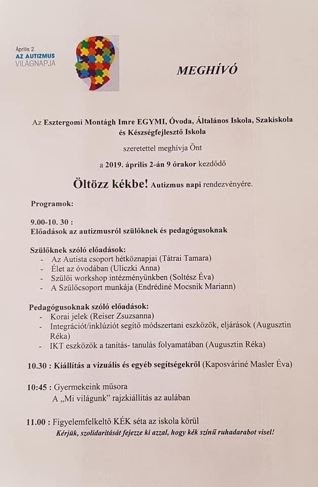 b98d80b696 Autizmus Világnapi programok 2019-ben Budapesten és vidéken térképes ...