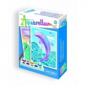 Aquarell mini - Delfin